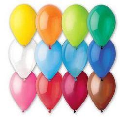 Воздушные шарики 30см Ассорти пастель 100шт G 110/80 Gemar