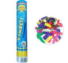 Хлопушка 30см конфетти бум