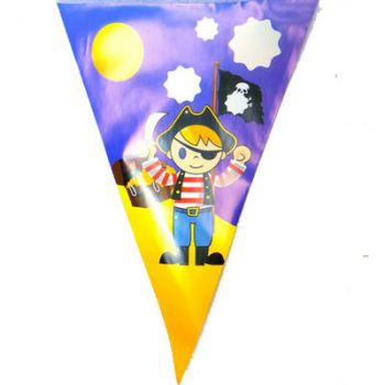 Праздничные флажки для пиратской вечеринки 318см