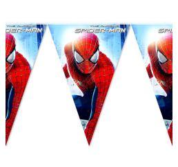 Бумажные флажки Человек-паук