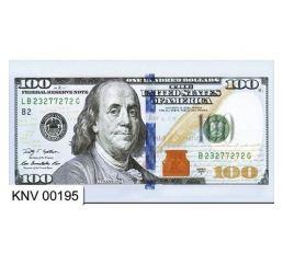 Конверт для денег 100 ДОЛЛАРОВ 195