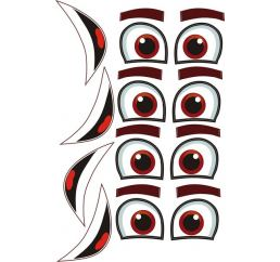 Наклейки-Глаза для шаров №1