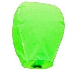 Небесный фонарик Зелёный КУПОЛ