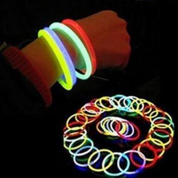 Флуорисцентний светящийся браслет на руку до 12 часов