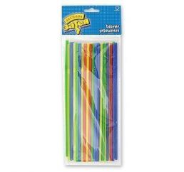 Трубочки разноцветные 50шт