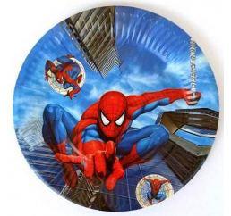 Одноразовые Тарелки Человек-паук 18см 10 шт