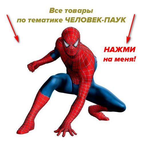 Товары ко дню рождения в стиле человек паук